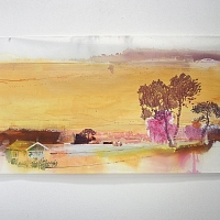 Tour d horizon, acrylic