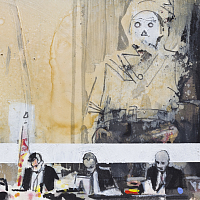 "From the series ""diaries"" 21x15cm"