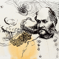 """Order Without Control"" // from the series ""diaries"" 21x15cm, aquarelle & acrylic painting on paper"