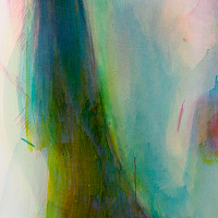 """Character 1"" detail, 160 x 200 cm, Acrylic on canvas"