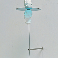 State of Mind (Double), plaster and glas