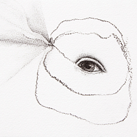 Charcoal from the series 'diaries'