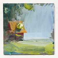Oil painting, fron the series 'Arcadia Trash'